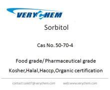 Food additive Sorbitol Liguid and Powder Cas No.50-70-4