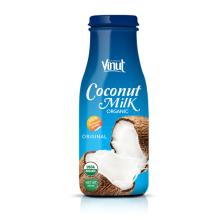 200ml Bottle Organic Coconut Milk (USDA Organic, EU Organic)