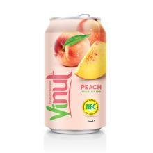 330ml  Canned  Fruit Juice Peach Juice Drink  Wholesale  Supplier