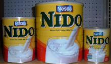 NIDO MILK POWDER 400g, 900g, 1800g & 2500g