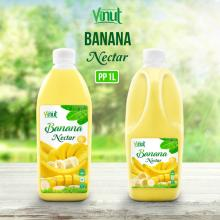 1L Bottle Banana Juice Drink Nectar