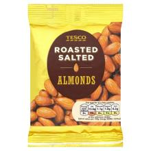 Roasted Almond salted, honeyed, dry roasted almonds