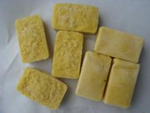 Frozen crushed ginger/galic/union/chives/tomato and chilli cubes