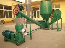 High Capacity Automatic Pellet Mill Machine 1000-1500 Kg/H  Wood  Pellet Mill Equipment Flat Die Pelle