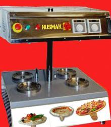 UMBRELLA SHAPE PIZZA machine - 4 capacity
