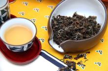 Champaign oolong tea