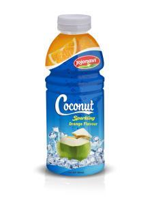 Manufacturers Coconut Sparkling Water Orange Flavour