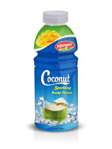 Natural Coconut Sparkling Water With Mango Flavour