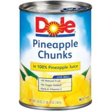 Pineapple Chunks in Juice