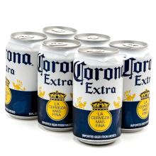 CORONA EXTRA BEER BOTTLES AND CANS