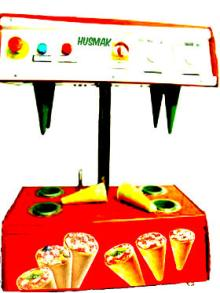 PIZZA CONE MACHINE 4 cone maker