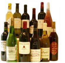 All type of wine