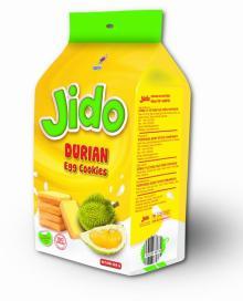 Jido durian egg cookies 160gr