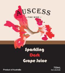 AUSCESS SPARKLING DARK GRAPE JUICE
