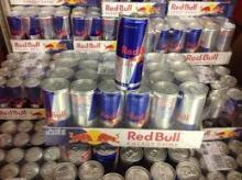 R-E-D Bull-- Energy Drink 250ml Red, Blue and Silver