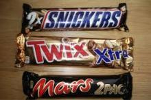 Snickers,,Nutella, Kinder Joy, Mars, Bounty Twix, Kitkat, kinder suprise