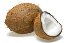 Полу Шелушеный кокосовый орех/ свежая шелуха кокосового ореха происхождение Малайзия