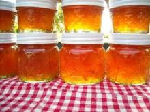 Delicious Orange Marmalade, lime, candied citrus peel, orange peel jam