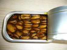 детские консервы моллюсков