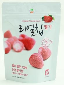 FREEZE-DRYING STRAWBERRY CHIPS