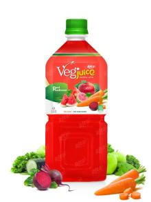 1000ml pet bottle Vegetable Red Radianse Juice Drink