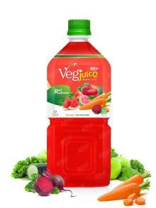1000ml pet bottle Vegetable Red Radianse Juice Drink