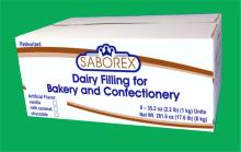 Dairy filling for bakery and confectionery