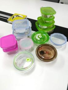 Glass Fresh keeping box Food container food storage box