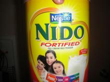we sell INSTANT MILK POWDER NESTLE NIDO 24X400G