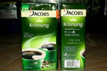 we sell Jacobs Kronung Ground Coffee 200g/ 250g/ 500g