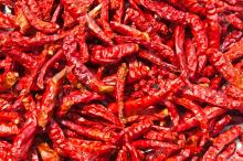 Top quality dried red crushed chilli