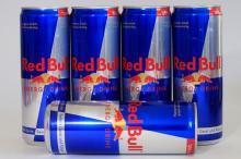 AUSTRIA ORIGINAL RED BULLS ENERGY DRINK 250 ML RED/BLUE/SILVER