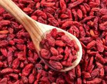 Oval shaped dry food goji berries dried goji fruit for sale