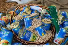 canned food garbanzo beans canned chick peas for sale