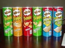 Pringles style Stackable Potato chips