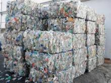 Waste Plastic PET Bottles Bales