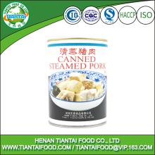 HACCP label wholesale  canned  meat  canned   stew ed  pork   canned  food sliced  pork