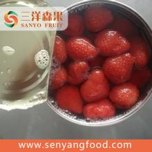 organic natural troptical canned strawberry in syrup .fresh strawberry