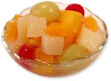 fresh / health canned fruit cocktail Mandarin Orange, Grape, Pineapple, Cherry