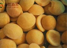 fresh sweet organic Frozen yellow peach with halves / slice / dice for sale