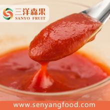 good taste sweet and sour tomato paste in pouch without preservatives and artficial addtives