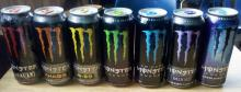 Monster Energy Drinks Varying Flavours Available