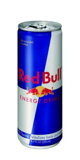 Red bull energy drink, XL energy drink, monster en