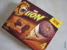 Lion Cone,Kit Kat Cone,Milka Cone,Movenpick Cone