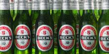 Becks Beer in Bottles and Cans