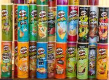 Pringles Chips 40g, 150g, 165g, 190g