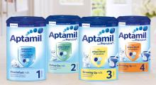 Quality Aptamil milk powder for all stages.
