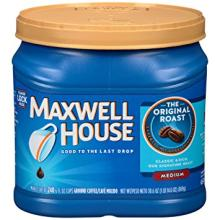 Maxwell house coffee for sale