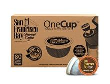San Francisco Bay OneCup, Fog Chaser, 80 Count- Single Serve Coffee