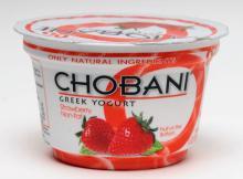 Chobani Yogurts